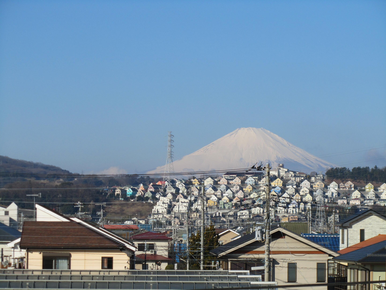 まとい整骨院からの富士山