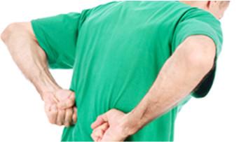 背中・腰の痛み